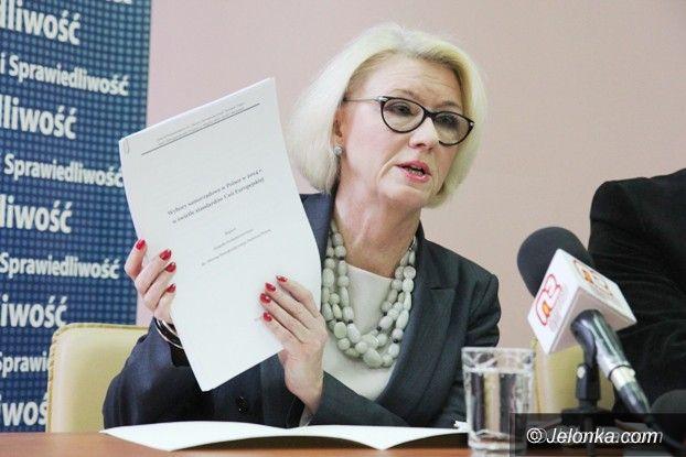 Jelenia Góra: Posłanka Marzena Machałek: wybory sfałszowano!