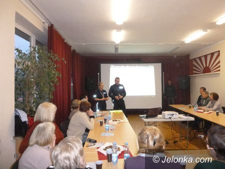 Jelenia Góra: Spotkanie z seniorami o bezpieczeństwie