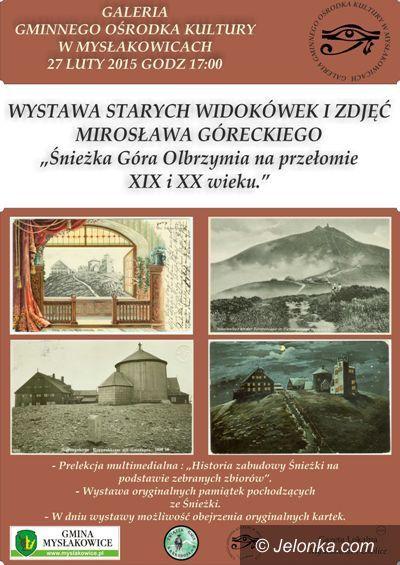 Mysłakowice: Góra Olbrzymia na starych widokówkach