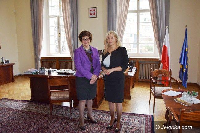 Powiat: Anna Konieczyńska z wizytą u ambasadora w Pradze