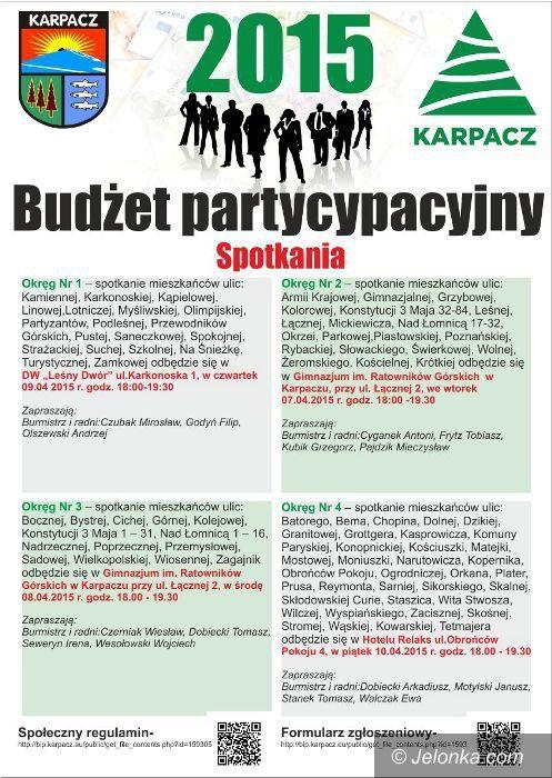 Karpacz: O budżecie obywatelskim pod Śnieżką – od dziś