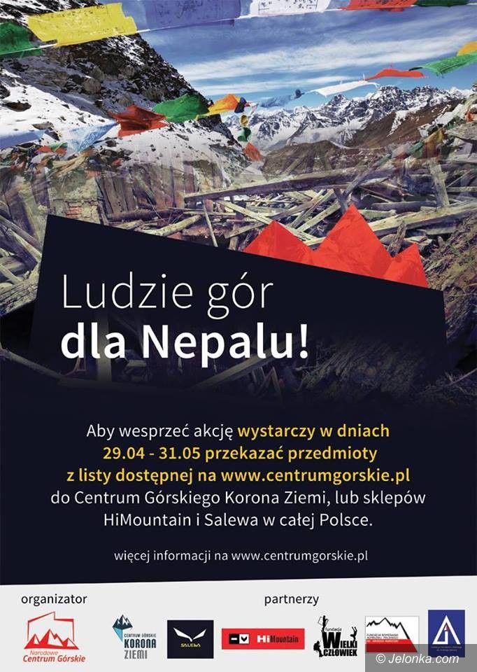 Kraj/Jelenia Góra: Ludzie gór dla Nepalu – dołącz do nich