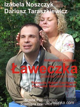 """Szklarska Poręba: Spektakl """"Ławeczka"""" w Kaprysie"""