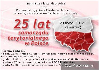Piechowice: Obchody 25–lecia samorządu terytorialnego w Piechowicach