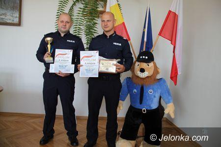 Region: Jeleniogórska para patrolowa zasłużyła na srebro!