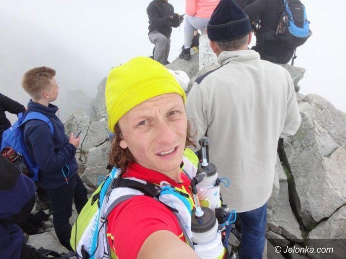 Jelenia Góra: Jeleniogórzanin pobiegł po szczytach i pobił rekord!