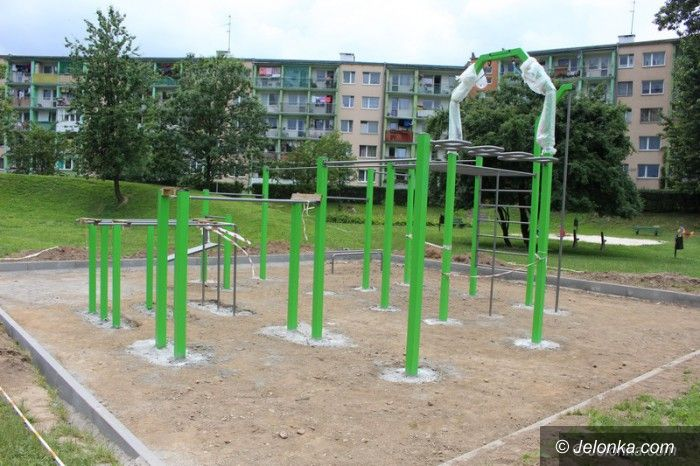 Jelenia Góra: W piątek otwarcie street workout parku