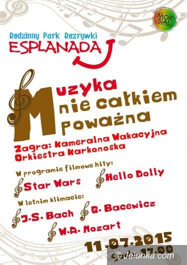 Szklarska Poręba: Muzyka (lubiana) na Esplanadzie pod Szrenicą