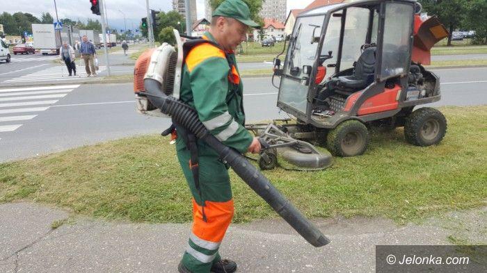 Jelenia Góra: Pracownicy MPGK koszą i pielęgnują