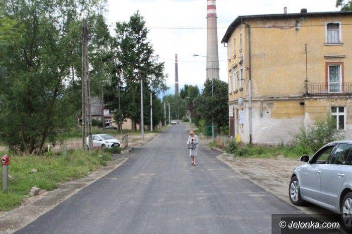 Jelenia Góra: Ulica Warszawska gotowa