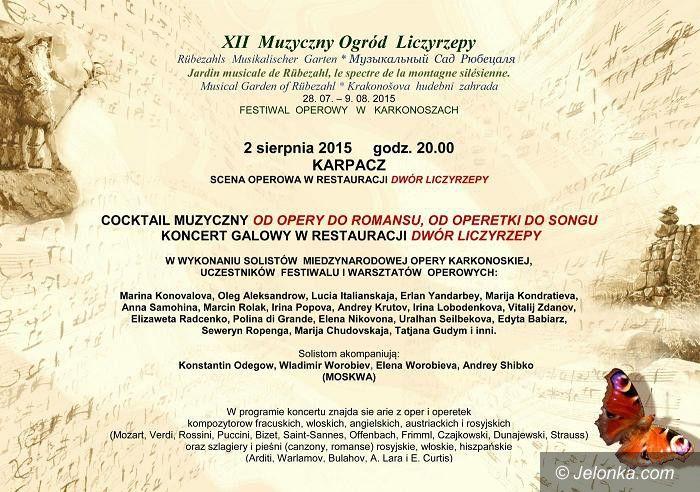 Karpacz: Koncert galowy 12. Muzycznego Ogrodu Liczyrzepy