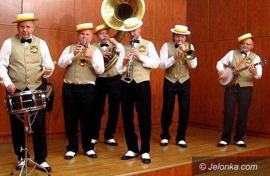 Jelenia Góra: Koncert plenerowy Dixie Deer's Marching Jazz Band