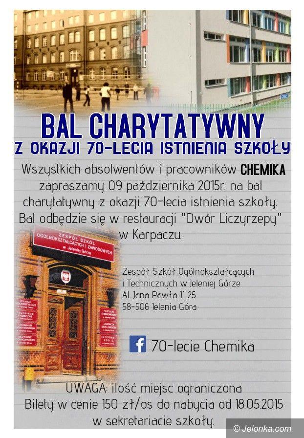"""Jelenia Góra: Jubileusz """"Chemika"""" – będą uroczystości i bal charytatywny"""