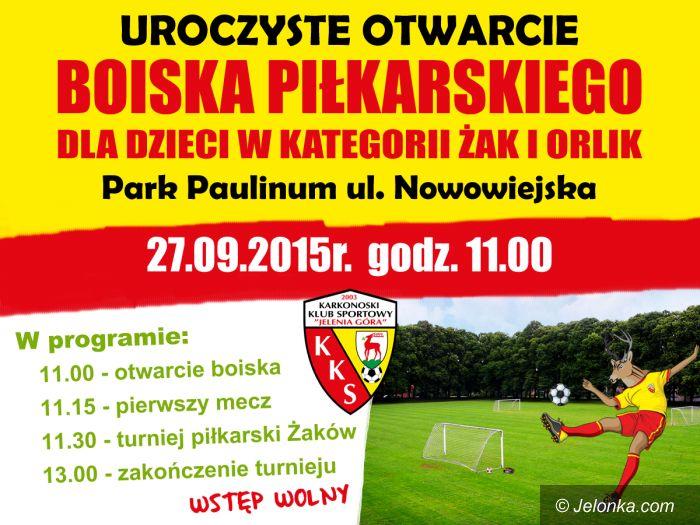Jelenia Góra: KKS zaprasza na otwarcie boiska