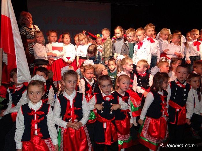 Jelenia Góra: Przedszkolaki (po raz szósty) patriotycznie