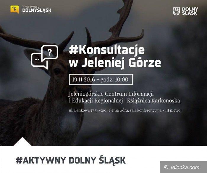 Jelenia Góra: Aktywny Dolny Śląsk – konsultacje w Jeleniej Górze