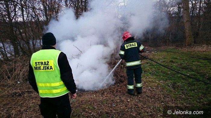 Jelenia Góra: Sprawca podpalenia przy ul. Głowackiego poszukiwany