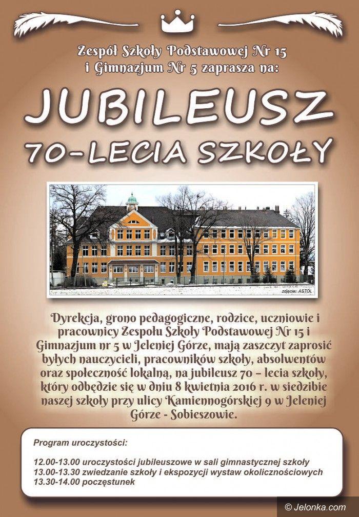 Jelenia Góra: Wielki jubileusz szkoły w Sobieszowie