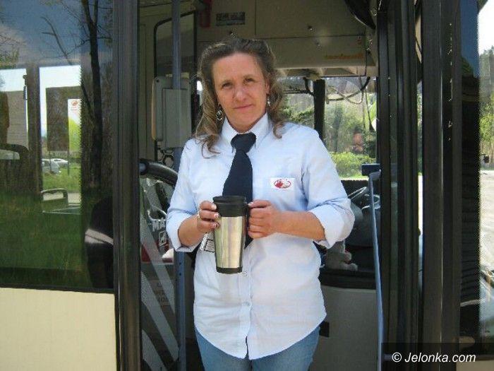 Jelenia Góra: Magdalena Michalak: kieruje autobusem, bo lubi