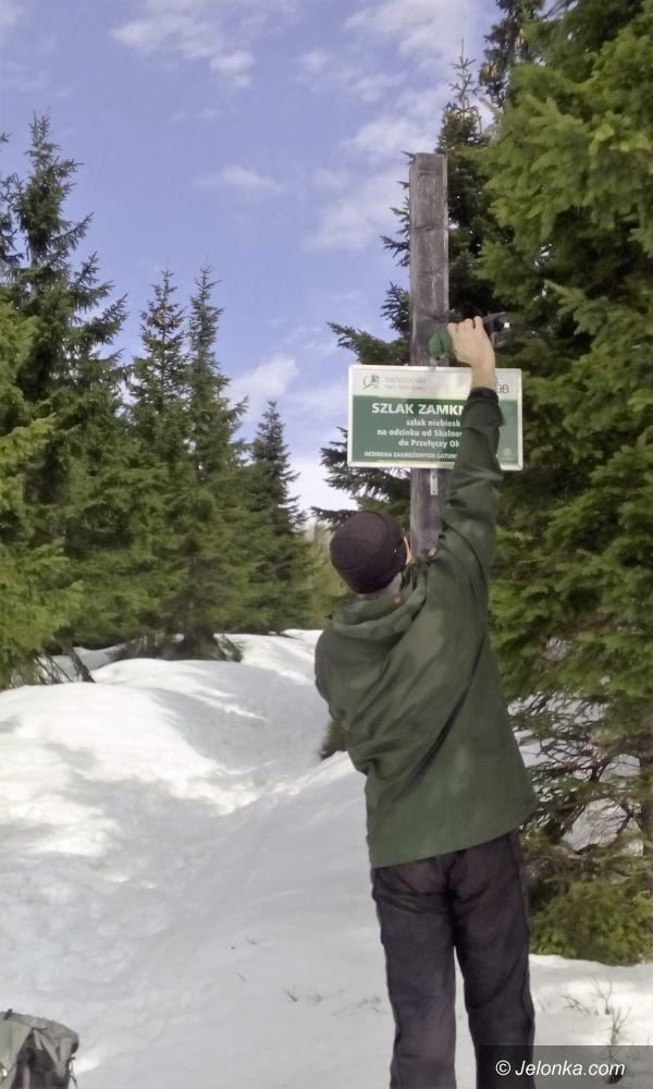 Region: Zamknięte odcinki szlaków w Karkonoszach