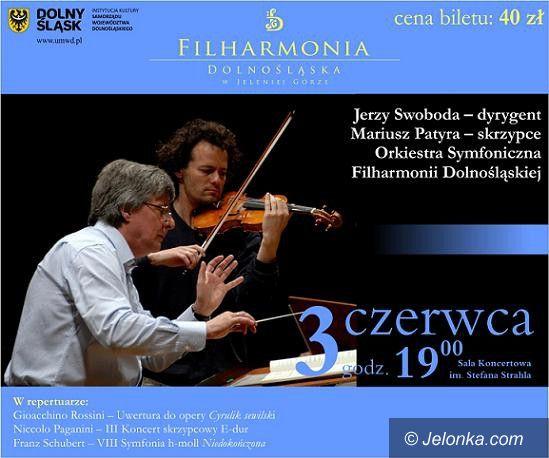 Jelenia Góra: Rossini, Paganini i Schubert w mistrzowskim wykonaniu