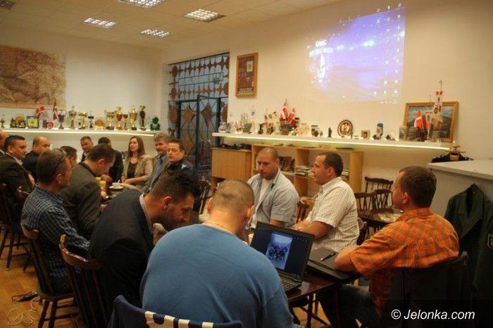 Jelenia Góra: Policjanci z Czech z wizytą w Jeleniej  Górze
