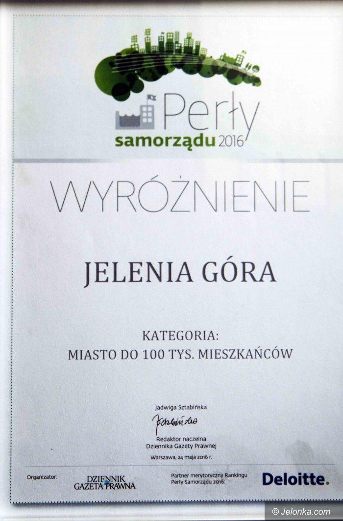 Jelenia Góra: Jelenia Góra i prezydent wyróżnieni