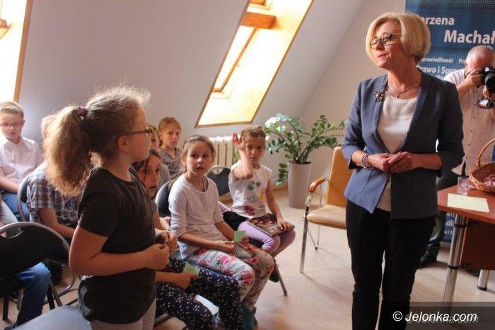 Jelenia Góra: Dzień Dziecka w biurze poselskim