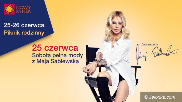 Jelenia Góra: Piknik rodzinny i sobota pełna mody z Mają Sablewską!