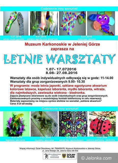 Jelenia Góra: Ruszyły letnie warsztaty plastyczne w Muzeum Karkonoskim
