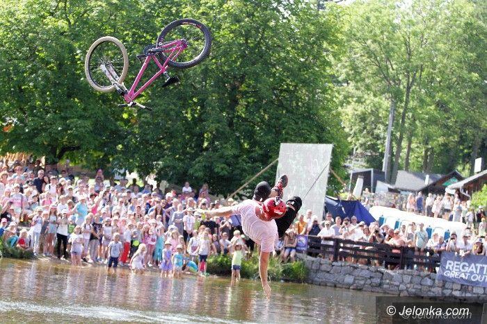 Szklarska Poręba: Skoki do wody zakończyły Bike Week Festiwal