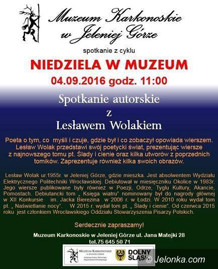 Jelenia Góra: Spotkanie autorskie z Lesławem Wolakiem