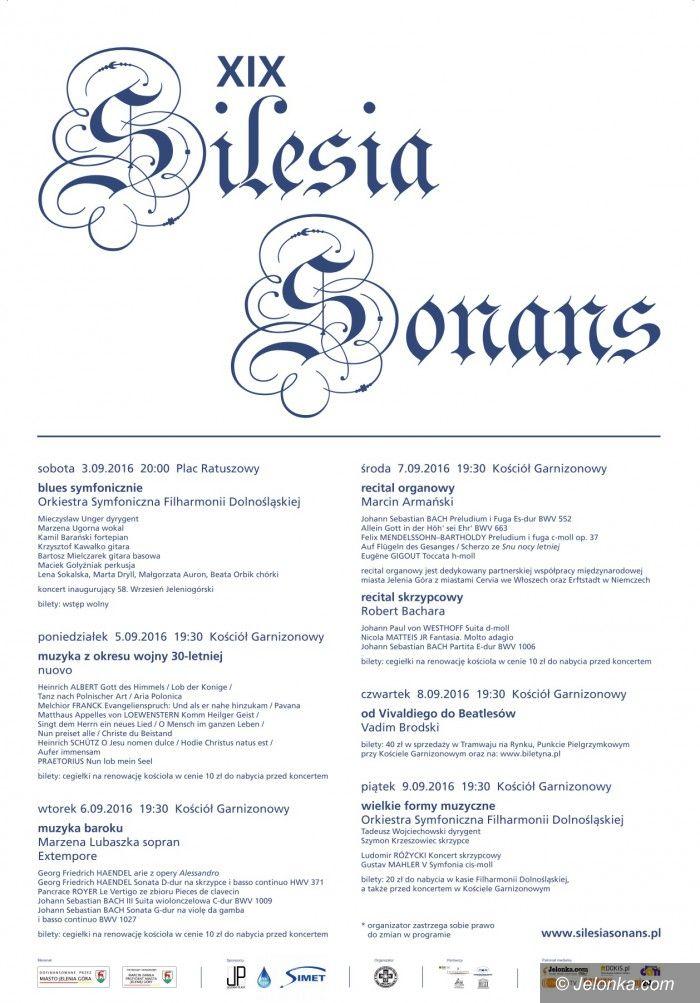 Jelenia Góra: Silesia Sonans: dziś muzyka z czasów wojny 30–letniej
