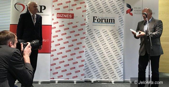 Jelenia Góra: Wodnik doceniony przez Polski Kongres Przedsiębiorczości