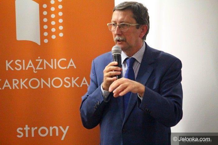 Jelenia Góra: Tłumy na spotkaniu z prof. Żarynem