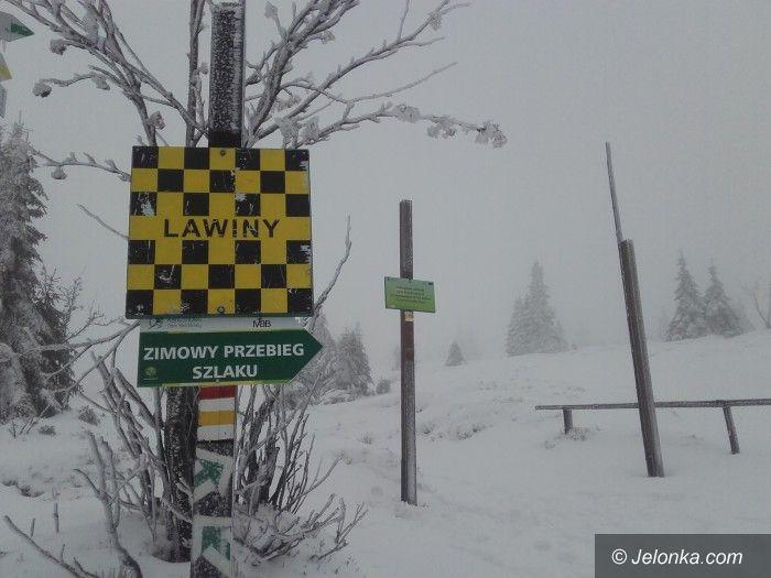 Region: Śnieg i lód – szlaki zamknięte