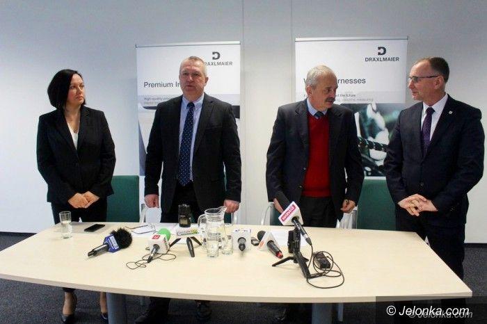 Jelenia Góra: Prezydent w DWS Draexlmaier