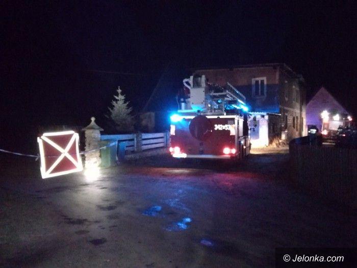 Łomnica: Tragiczny pożar w Łomnicy