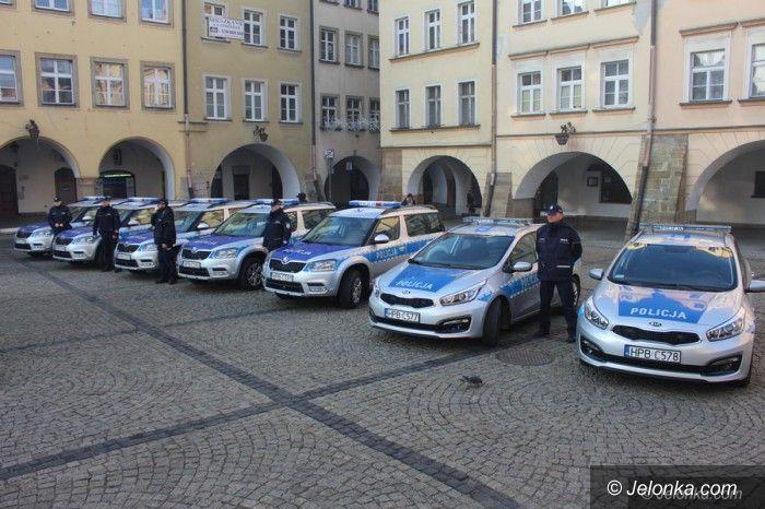 Jelenia Góra: Nowe samochody dla policji