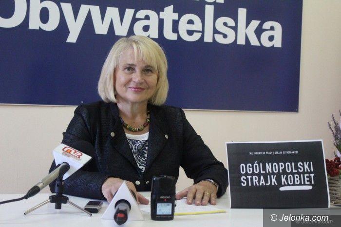 Jelenia Góra: Posłanka PO Zofia Czernow o okupacji w Sejmie