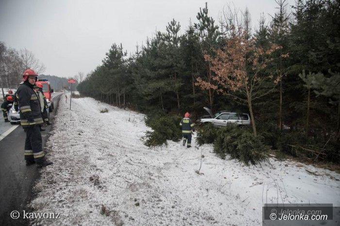 Jelenia Góra: Kolizja na Sobieskiego – auto w rowie