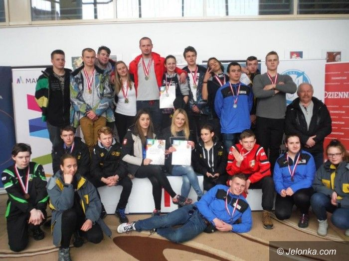 Ogólnopolska Olimpiada Młodzieży: Dominacja saneczkarzy Karkonoszy