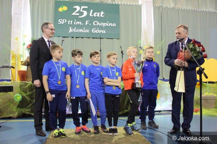 Jelenia Góra: Puchar Tymbarku: Wielki sukces uczniów SP 11