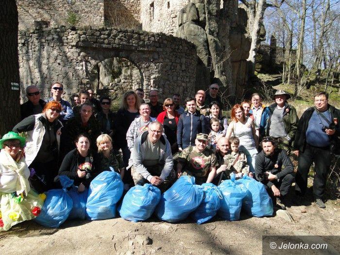 Region: Sprzątanie zamku Bolczów