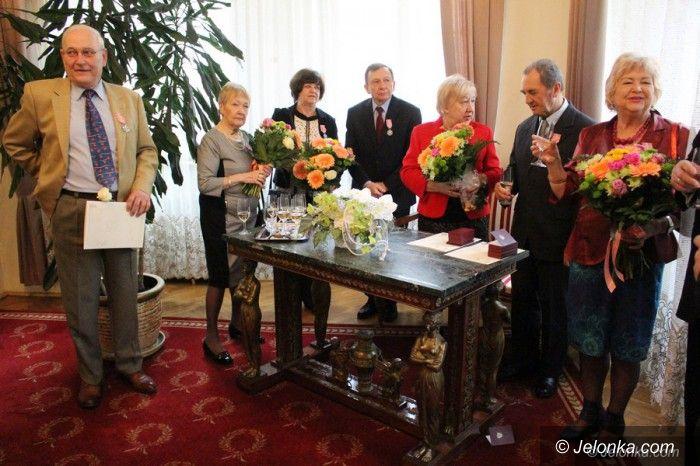 Jelenia Góra: Odebrali medale za złote gody