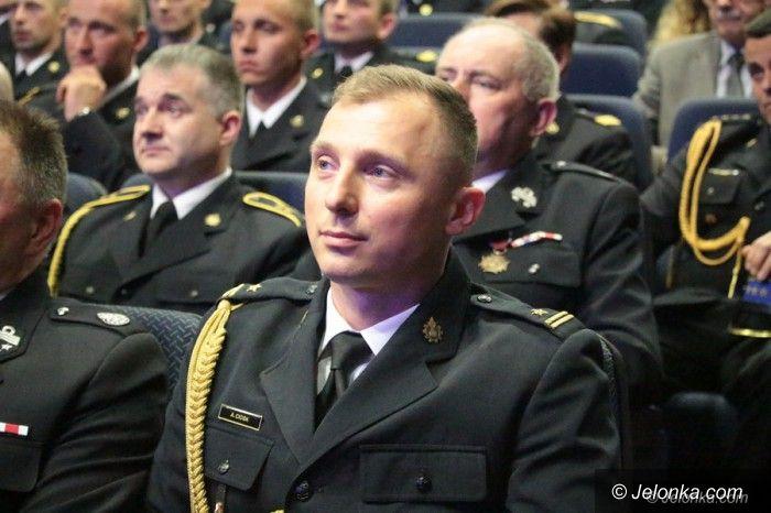 Jelenia Góra: Strażacy uroczyście w JCK