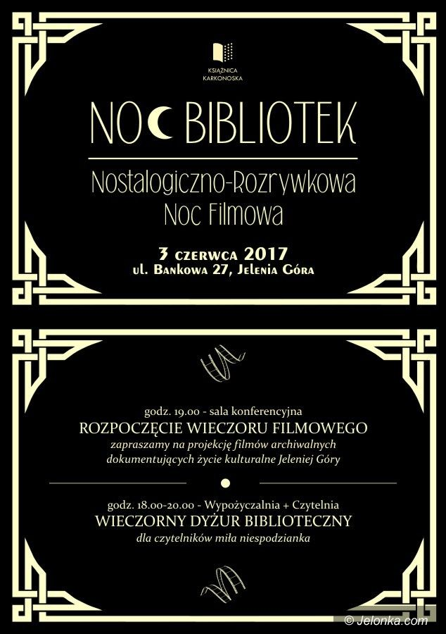 Jelenia Góra: Nostalgiczno–rozrywkowa noc w Książnicy