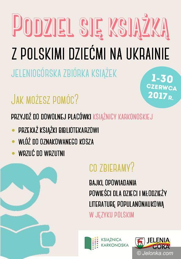 Jelenia Góra: Jeleniogórska Zbiórka Książek dla dzieci na Ukrainie