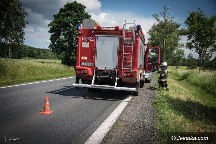 Jelenia Góra: Kolizja trzech samochodów