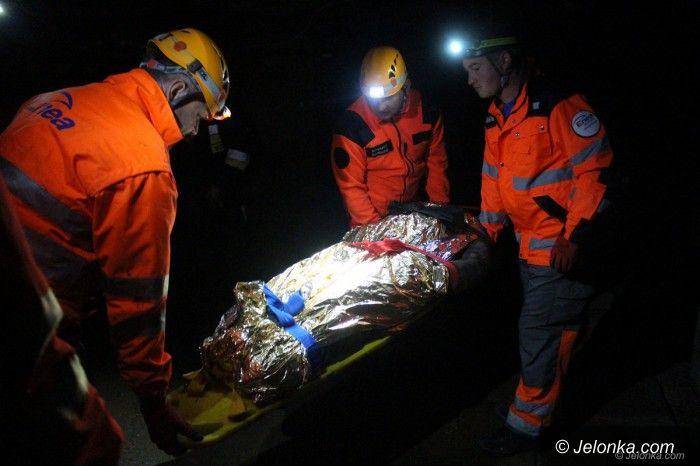 Kowary: Szkolili się z ratownictwa w kopalni Podgórze